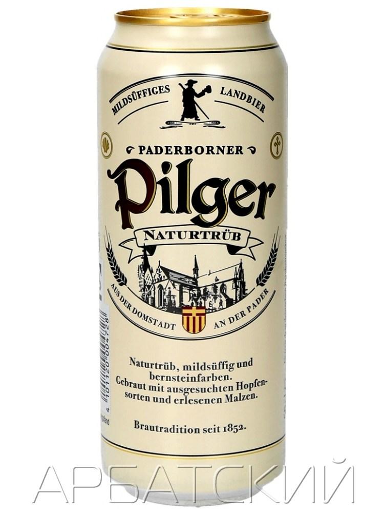 ПАДЕРБОРНЕР ПИЛГЕР / PADERBORNER PILGER 0,5л. алк.5% ж/б.