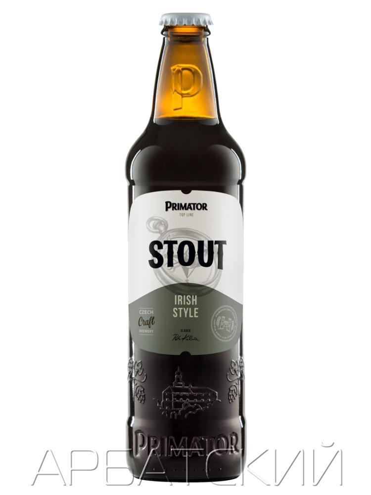 Приматор Стаут / PRIMATOR STOUT 0,5л. алк.4,7%