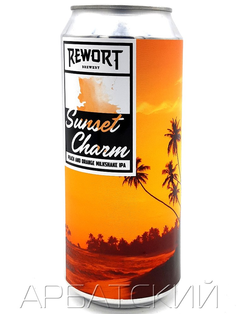Реворт САНСЕТ ШАРМ / Rewort Sunset Charm 0,5л. алк.6,9% ж/б.
