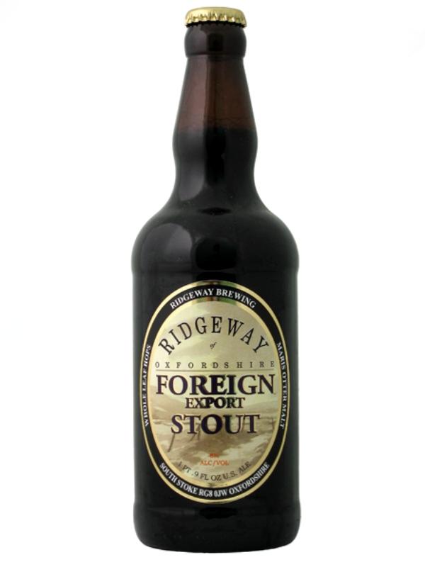 Риджуэй Форин Экспорт Стаут / Ridgeway Foreign Export Stout 0,5л. алк.8%