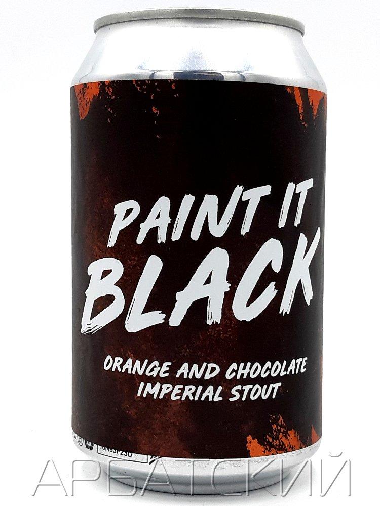 Рок н Бир Пэинт Ит Блэк / RocknBeer Paint It Black 0,33л. алк.8,5% ж/б.