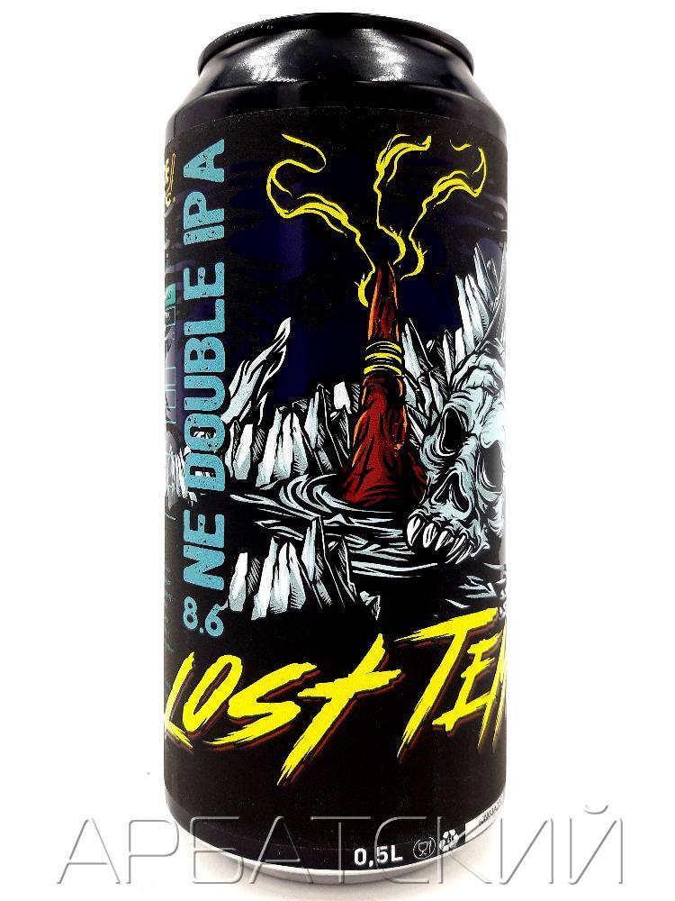 СБ Крепкий Эль 5 / Selfmade Brewery Lost temple 0,5л. алк.8,6% ж/б.