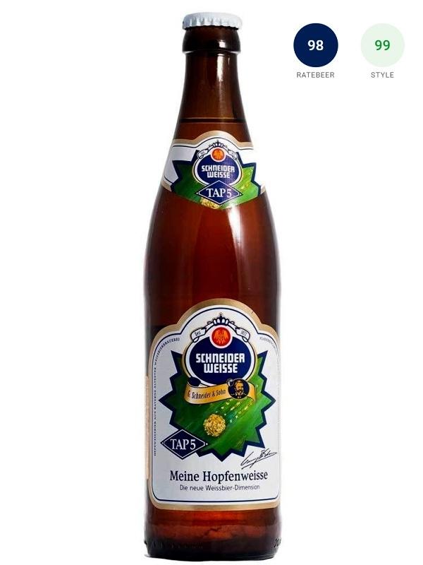 Шнайдер Вайсс ТАП 5 Майне ХопфенВайсс / Schneider Weisse Tap 5 Meine Hopfenweisse 0,5л. алк.8,2%