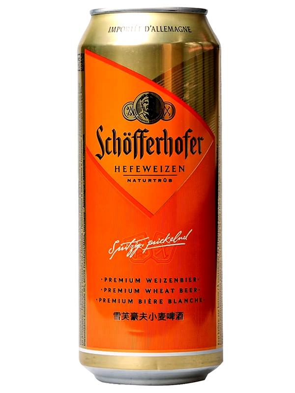 Шофферхофер Хефевайзен / Schofferhofer Hefeweizen 0,5л. алк.5% ж/б.