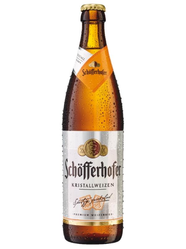 Шофферхофер Кристаллвайзен / Schofferhofer Kristallweizen 0.5л. алк.5%