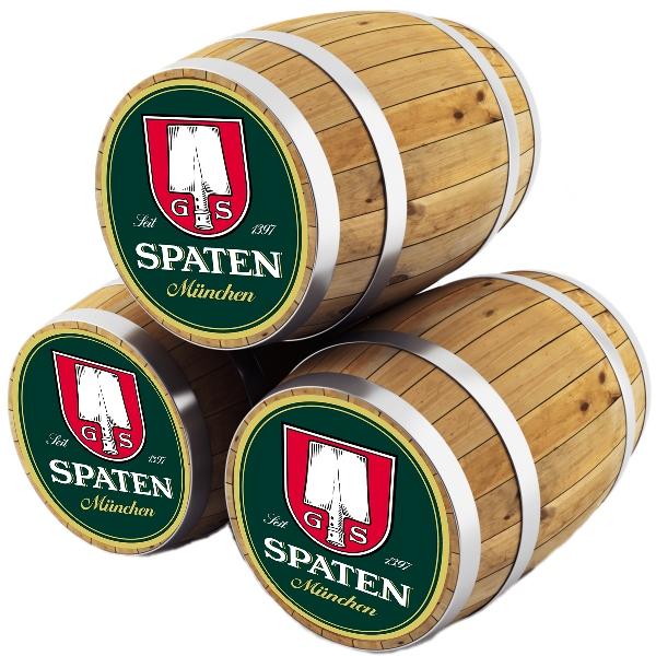Шпатен Мюнхен / Spaten Munchen, keg. алк.5,2%