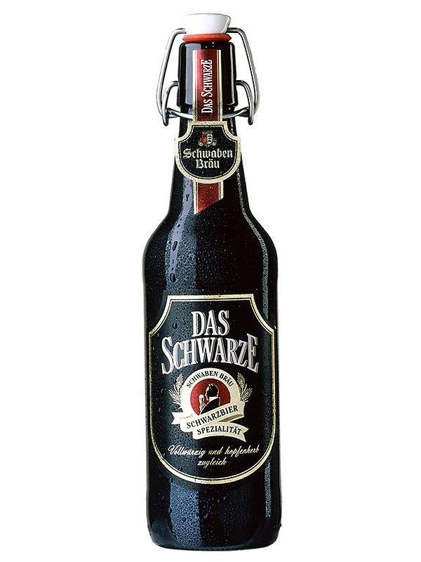 Швабен Брой Дас Шварце / Schwaben Brau Das Schwarze 0,5л. алк.4,9%
