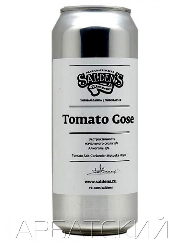 Салденс Томатны Гозе / Saldens Tomato Gose 0,5. алк.5% ж/б.