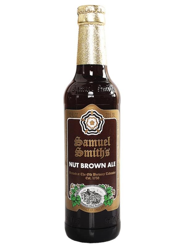 Сэмюэл Смит_с Нат Браун Эль / Samuel Smith_s Nut Brown Ale 0,355л. алк.5%