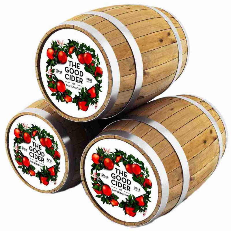 Сидр Гуд Сайдер Сан-Себастьян Брют / The Good Cider of San Sebastian Brut, keg. алк.5,5%