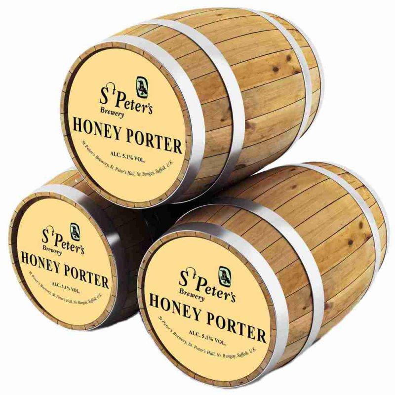 Ст.Петерс Хани Портер / St. Peter_s Honey Porter, keg. алк.4,5%