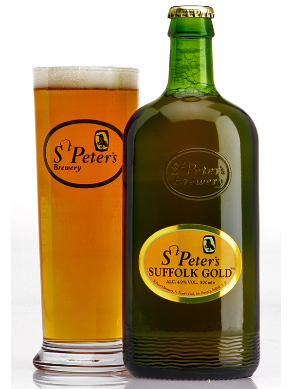 Ст.Петерс Саффолк Голд / St. Peter_s Suffolk Gold 0,5л. алк.4,9%