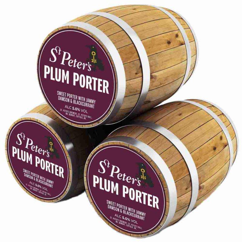 Ст.Петерс Сливовый портер / St. Peter's Plum Porter, keg. алк. 5%