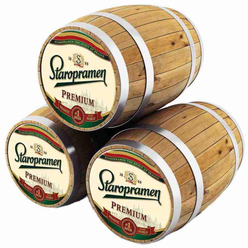 Старопрамен Премиум / Staropramen Premium, keg. алк.5%