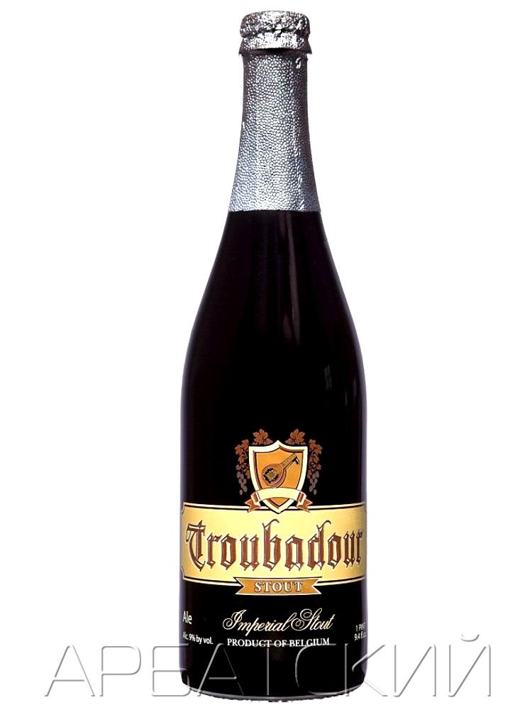 ТРУБАДУР Имперский Стаут / Troubadour Imperial Stout 0,75л. алк.9%