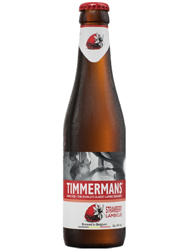 Тиммерманс Строуберри Ламбикус / Timmermans Strawberry Lambicus 0,33 л. алк. 4%