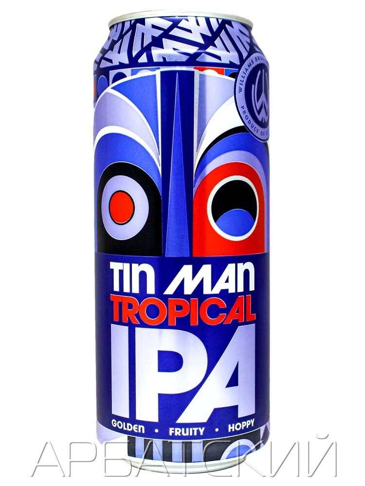 Тин Мэн Тропикал ИПА / Tin Man Tropical IPA 0,5л. алк.5,5% ж/б.