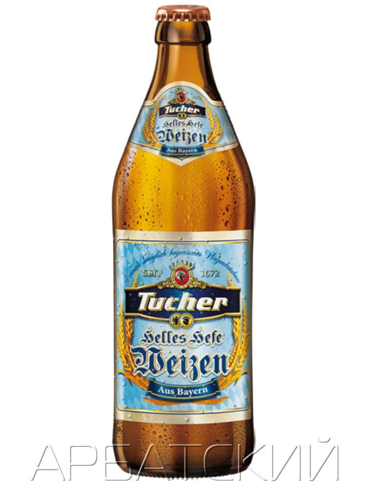 Туха Хель Хефевайцен / Tucher Helles Hefe Weizen 0,5л. алк.5,2%
