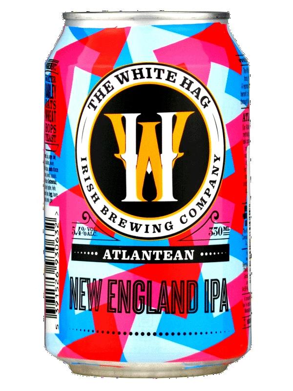 Уайт Хаг Атлантин Нью Инглэнд ИПА / White Hag Atlantean new Englend IPA 0,33л. алк.5,4% ж/б.