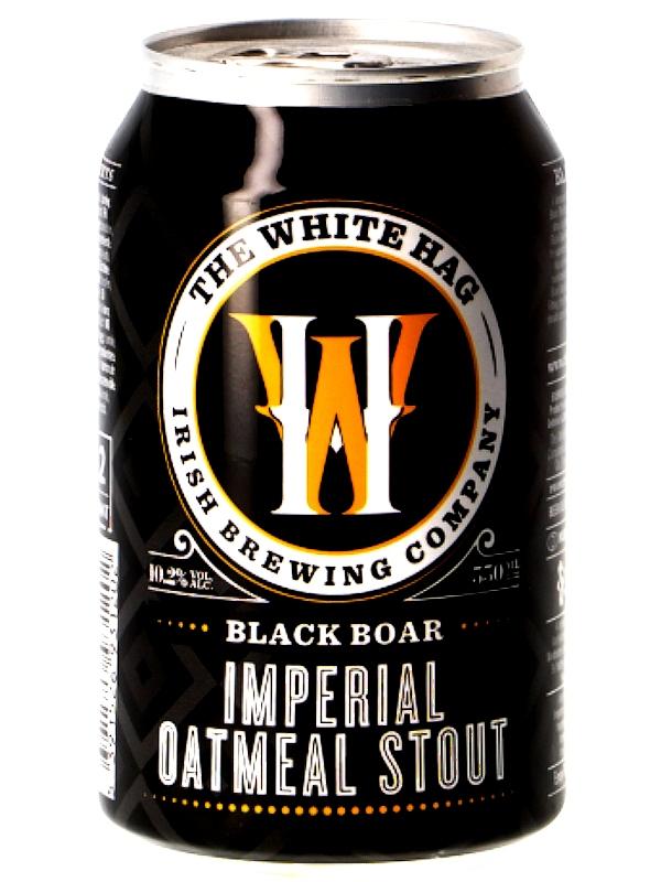 Уайт Хаг Блэк Бор / White Hag Black Boar 0,33л. алк.10,2% ж/б.