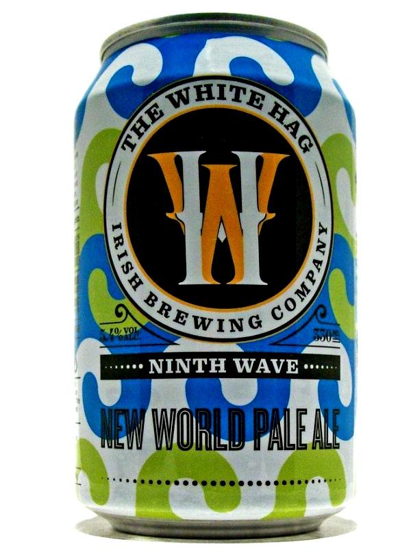 Уайт Хаг Найс Вэйв Нью Ворд / White Hag Ninth Wave Pale Ale 0,33л. алк.5,4% ж/б.