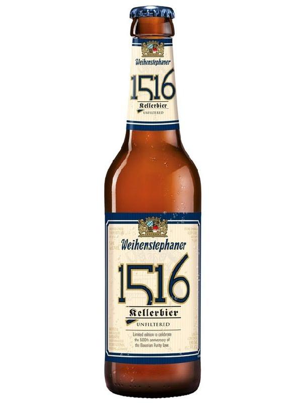 Вайнштефан 1516 Келлербир / Weihenstephaner 1516 Kellerbier 0,5л. алк.5,6%