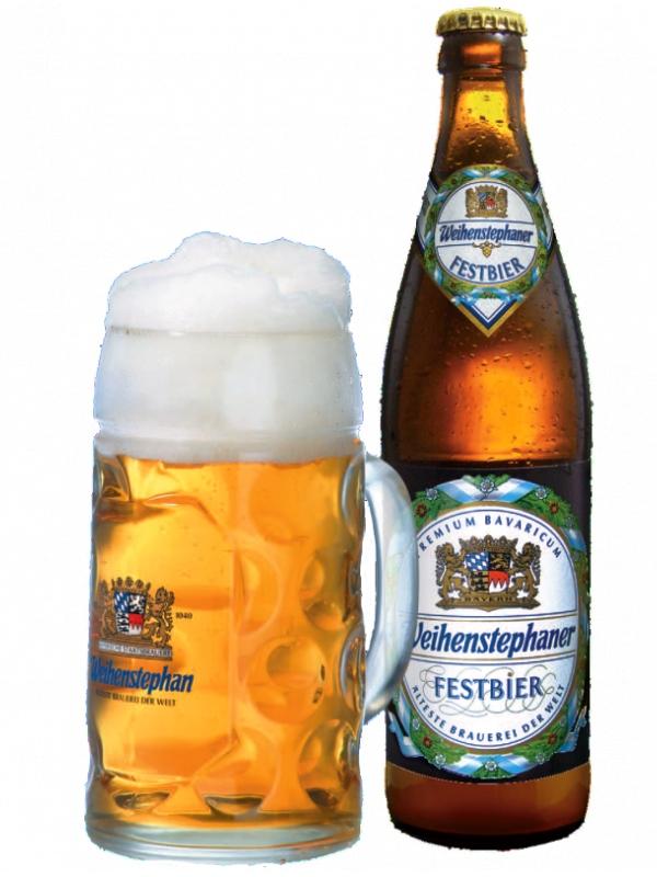 Вайнштефан Фестбир / Weihenstephan Festbier 0,5л. алк.5,8%