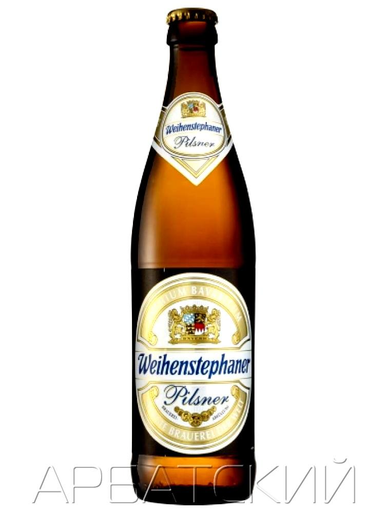 Вайнштефан Пилс / Weihenstephaner Pils 0,5л. алк.5,1%