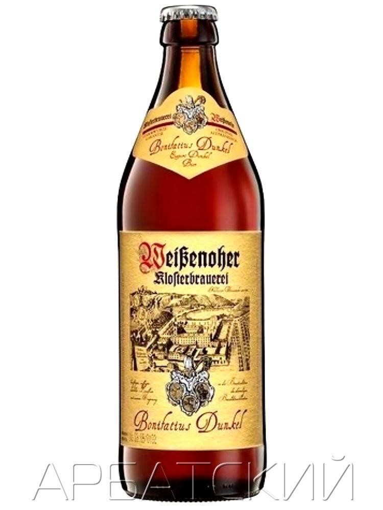Вайзеноер Бонифатиус Дункель / Weisenoher Bonifatius Dunkel 0,5л. алк.5,1%