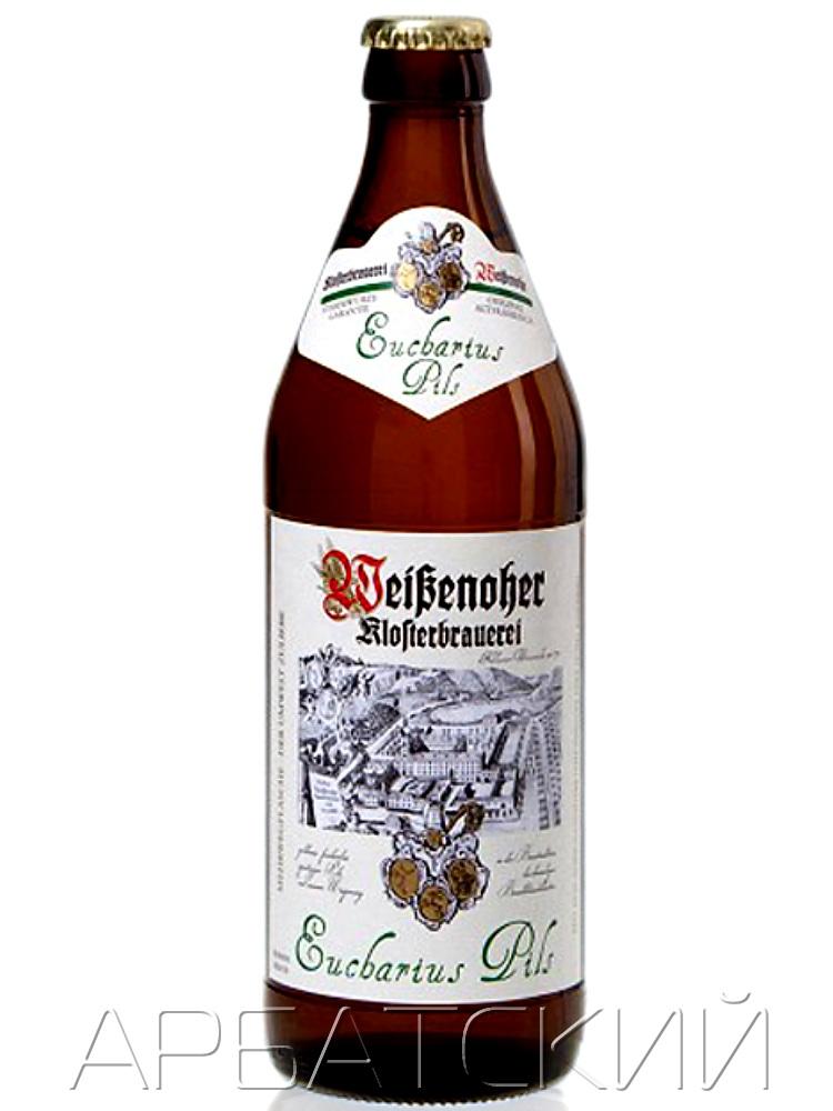 Вайзеноер Ойхариус Пилс / Weisenoher Eucharius Pils 0,5л. алк.4,9%