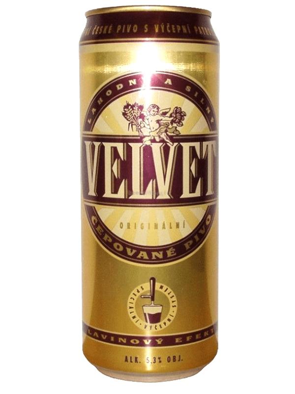 Вельвет / Velvet 0,44л. алк.5,1% ж/б.