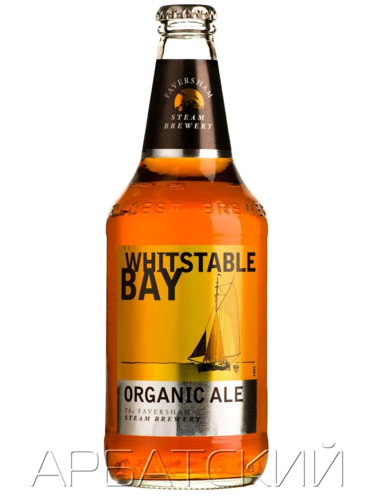 Витстейбл Бэй Органик Эль / Whitstable Bay Organic Ale 0,5л. алк.4,5%