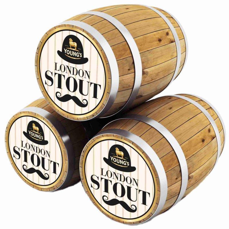Янгс Лондон Стаут / Young`s London Stout, keg. алк.5,2%