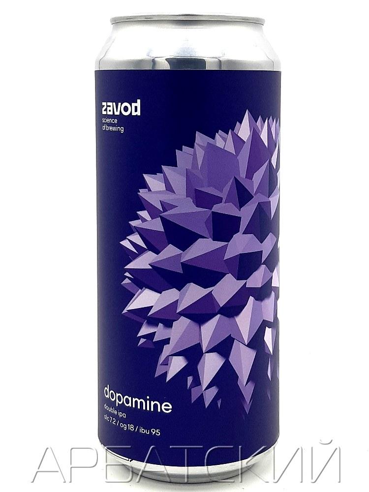Завод Дофамин / Zavod Dopamine 0,5л. алк.7,2% ж/б.