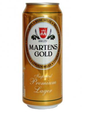 Мартенс Голд / Martens Gold 0,33л. алк.4,6% ж/б.