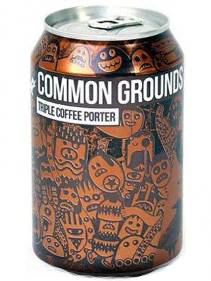Мэйджик Рок Коммон Граундс Триппль Коффи Портер/ Magic Rock Common Grounds Triple 0,33л. алк.5,4% ж/б.