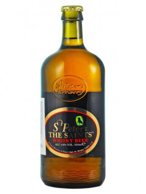 Ст.Петерс Сэйнтс Виски бир / St. Peter's The Saints Whisky Beer 0,5л. алк.4,8%