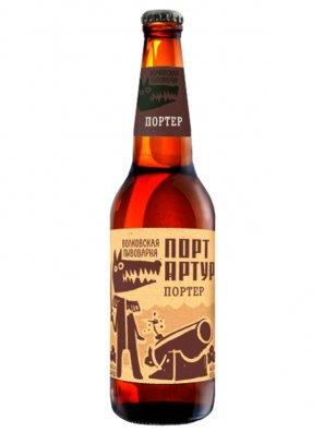 Волковская Пивоварня Портер Порт Артур 0,45л. алк.6,5%