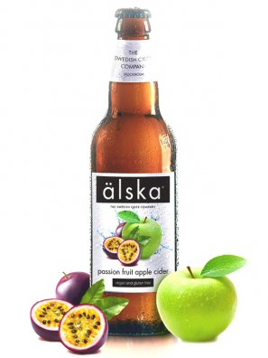 Альска  яблоко и маракуйя / Alska Passion Fruit Apple 0,5л. алк.4,0%