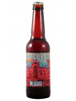 Стюарт Сент-Джайлс скотч эль/Stewart St.Giles scotch Ale 0,33л. алк.5%