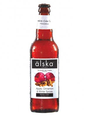 Альска яблоко и корица / Alska Apple Cinnamon&Winter Spices 0,5л. алк.4,0%
