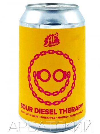 АФ Брю. Саур Дизель Тэрапи  / AF Brew Sour Diesel Therapy 0,33л. алк.6% ж/б.