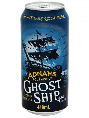 Аднамс Хост Шип / Adnams Ghost Ship 0,44л. алк.4,5% ж/б.