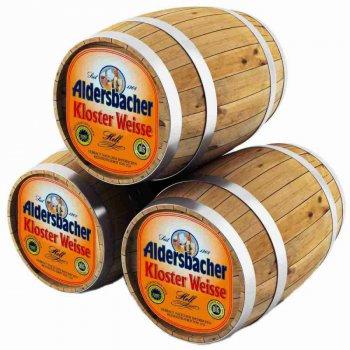 Альдерсбахер Клостер Вайсе Хелл / Aldersbacher Kloster Weisse Hell, keg. алк.4,9%