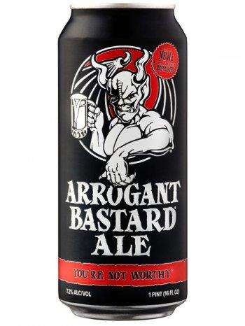 Стоун Аррогант Бастард эль /StoneArrogant Bastard Ale 0,5л. алк.7,2% ж/б.