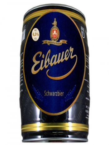 Айбауэр Черное пиво / Eibauer Chernoe Pivo 2л. алк.4,5% ж/б.