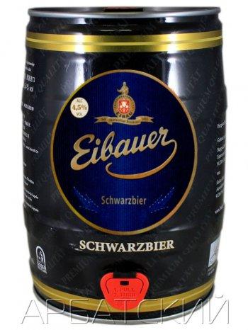 Айбауэр Черное пиво / Eibauer Chernoe Pivo 5л. алк.4,5% ж/б.