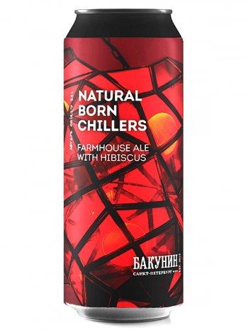Бакунин ягодный эль 3 / Bakunin Natural Born Chillers 0,5л. алк.6,7% ж/б.