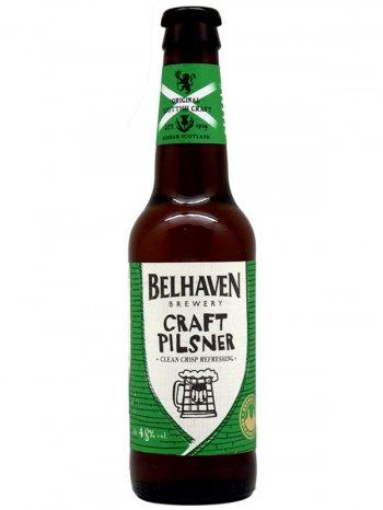 Белхеван Крафт Пилсенер / Belhaven Craft Pilsner 0,33л. алк.4,8%