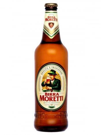 Бирра Моретти / Birra Moretti 0,66л. алк.4,6%